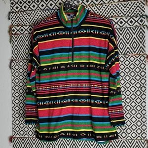 Chaps Sports Multi-Color Sweater